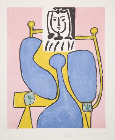 Pablo Picasso, 'Femme Assise à la Robe Bleu, 1949', 1979-1982