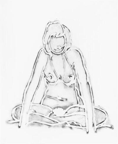 Tom Wesselmann, 'Monica Sitting Crossed-Legged'