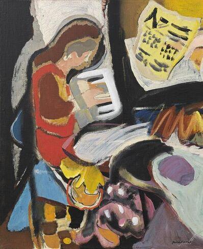 Ivon Hitchens, 'Piano player ', ca. 1944