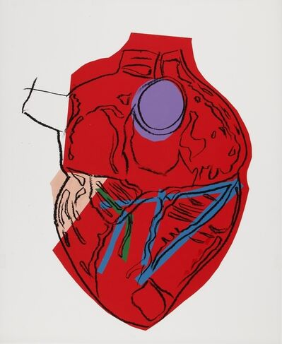 Andy Warhol, 'Heart', ca. 1982