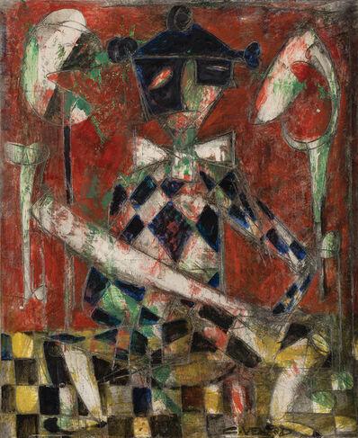 Claude Venard, 'Blue Harlequin', circa 1963