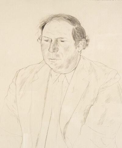 David Hockney, 'Gene Baro', 1969