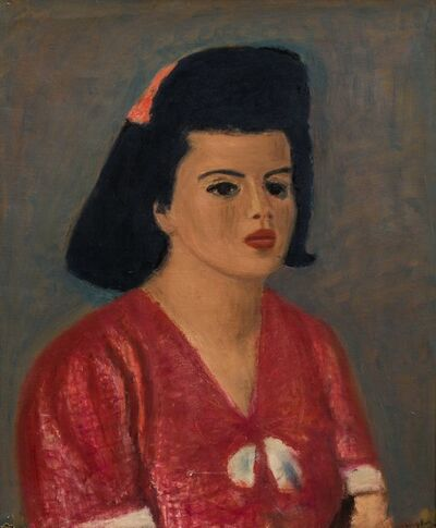 Henri Hayden, 'Portrait de Madame Inès Sassier'