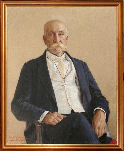 VLAHO BUKOVAC, 'Portrait of Pero Čingrija', 1907
