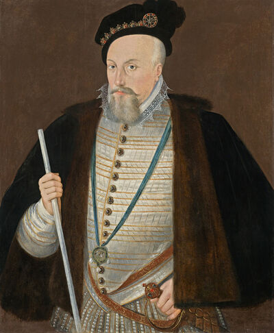 Attributed to Sir William Segar, 'Robert Dudley, 1st Earl of Leicester (1532 – 1588)', ca. 1587