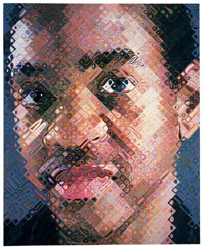Chuck Close, 'Lyle', 1999