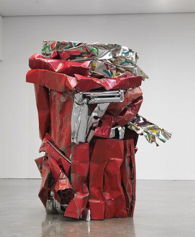 John Chamberlain, 'TAMBOURINEFRAPPE', 2010