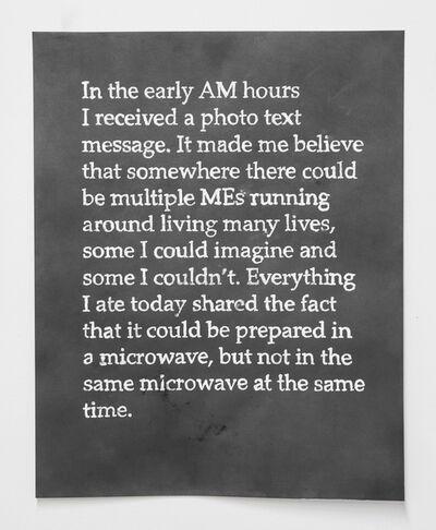 Erin Woodbrey, 'Days (Like This)', 2013-15