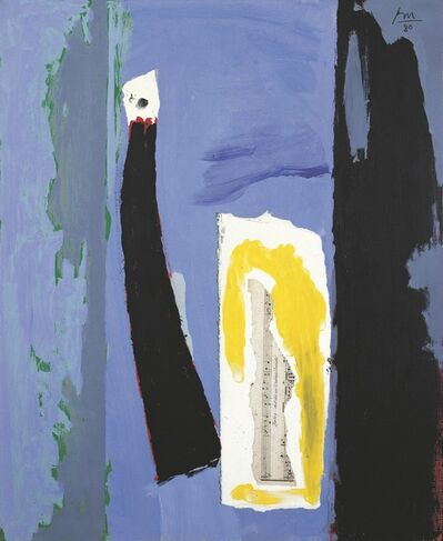 Robert Motherwell, 'The Sign of the Mermaid', 1980 – 1982 / 1985