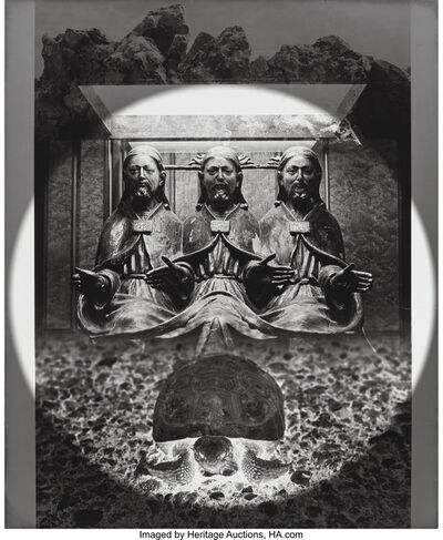 Jerry Uelsmann, 'Turtle Blessing', 1968
