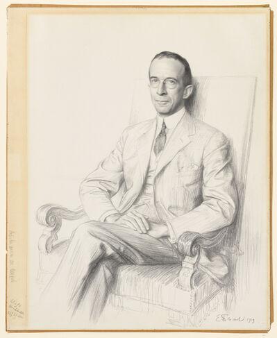 Émile Friant, 'Portrait of Robert Sterling Clark', 1919