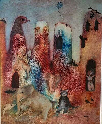 Tasaduq Sohail, 'Fantasy Scene', 1994