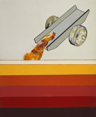 Renato Mambor, 'Il peso dei colori', 2008