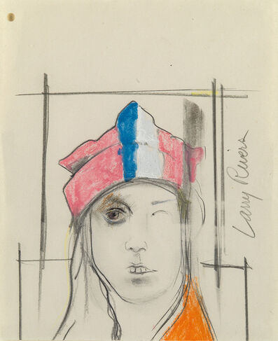 Larry Rivers, 'Study for Snow Cap', 1970