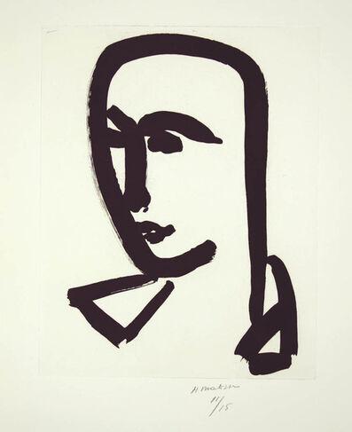 Henri Matisse, 'Jeune étudieant de trois-quarts', 1952