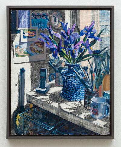 Christine Frerichs, 'Irises', 2018