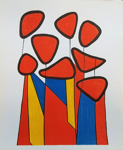 Alexander Calder, 'Les Fleurs', 1974