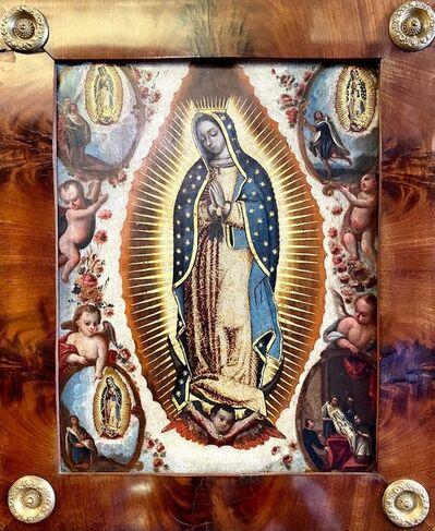 Mexican School, 'Virgen de Guadalupe', ca. S.XVIII