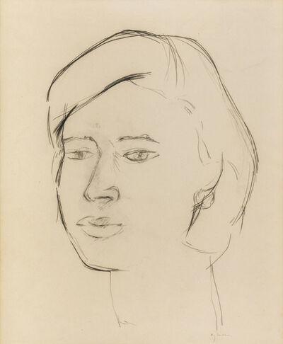 Giuseppe Ajmone, 'A woman's face'