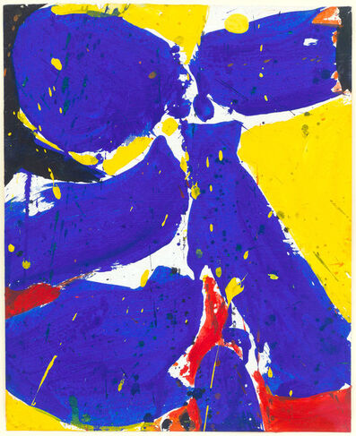 Sam Francis, 'Untitled (Blue-Yellow)', 1959