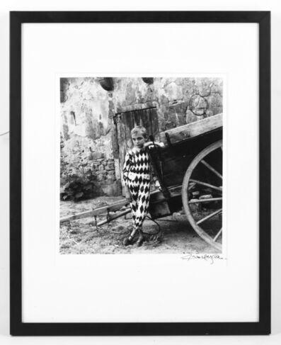 Lucien Clergue, 'Harlequin, Arles', 1955