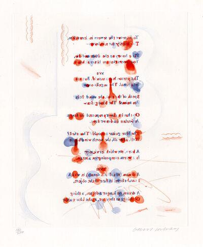 David Hockney, 'Made in April', 1976-1977