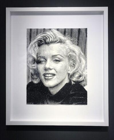 Keiko, 'Marilyn Smiling Diamond Dusted ', 2018