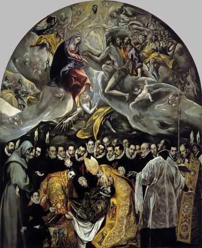 El Greco, 'Burial of Count Orgaz', 1586