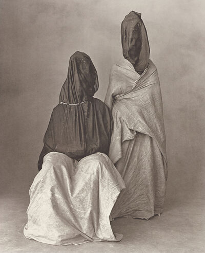Irving Penn, 'Two Guedras, Morocco', 1971