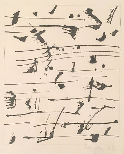 Graham Coughtry, 'Musical Notes Series', 1973