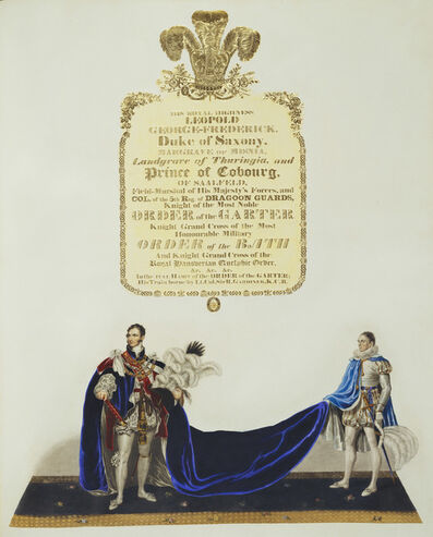 John Whittaker, 'Illustrated account of the Ceremonial of the Coronation of King George IV in the Abbey of St.Peter's Westminster', 1823