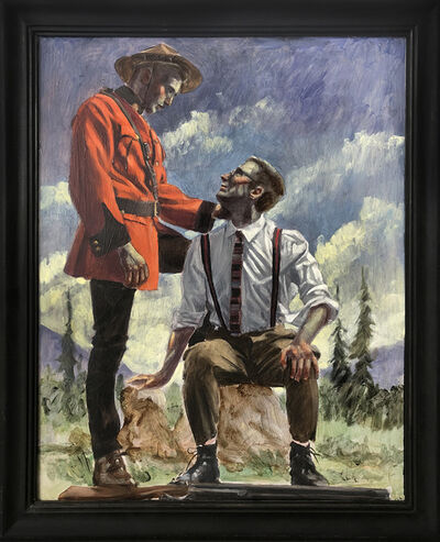 Mark Beard, 'Helpful Canadian Mountie', n.d.