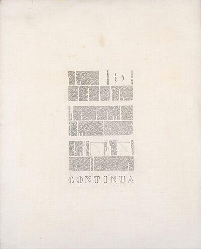 Vincenzo Agnetti, 'Continua', 1971