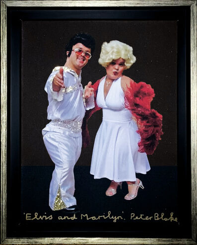 Peter Blake, 'Elvis & Marilyn', 1970-1990