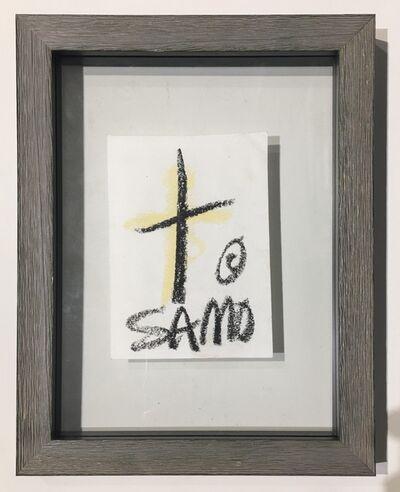 Jean-Michel Basquiat, 'Untitled, Samo Drawing Basquiat', ca. 1979