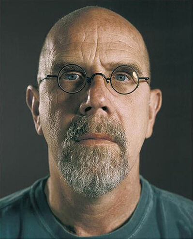 Chuck Close, 'Untitled (Self-Portrait)', 2007