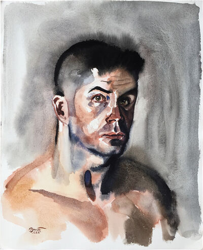 Paul Binnie, 'Nude Self-Portrait', ca. 1995