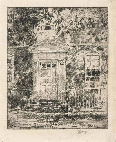 Childe Hassam, 'PORTSMOUTH DOORWAY (C./C. 104)', 1916