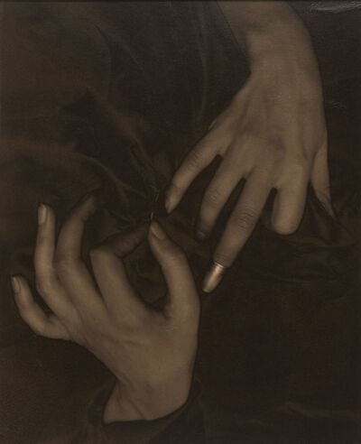 Alfred Stieglitz, 'Georgia O'Keeffe--Hands and Thimble', 1919
