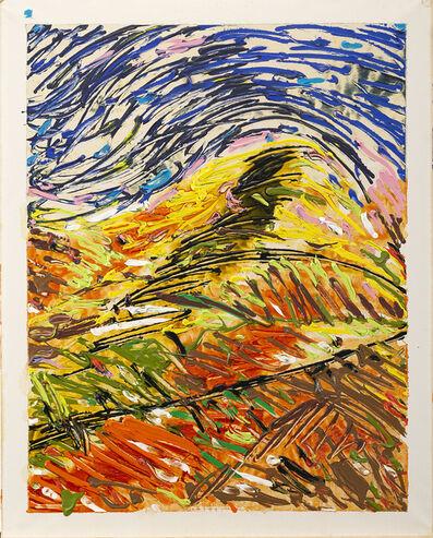 Mario Schifano, 'Collina in terra', 1985