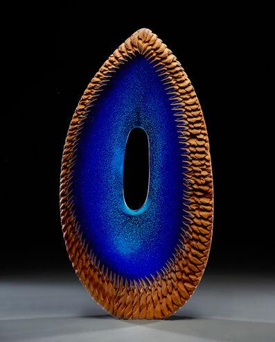 Alex Gabriel Bernstein, 'Deep Blue Oval'