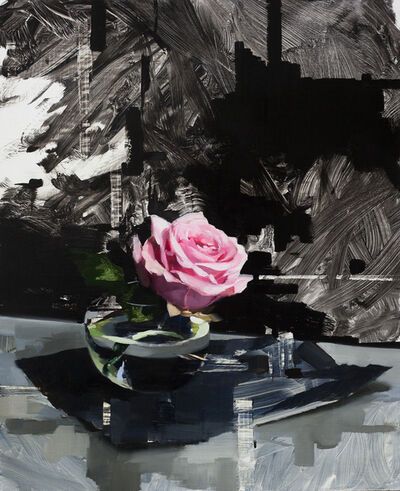 Jon Doran, 'Pink Rose and Black', 2018