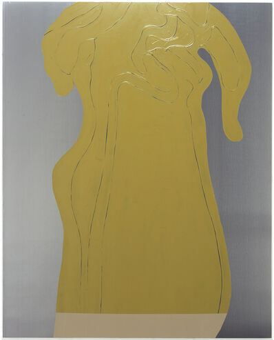 Gary Hume, 'Green Yellow Smoke', 2005