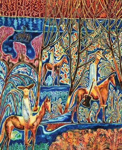 John Abell, 'Four Riders', 2018