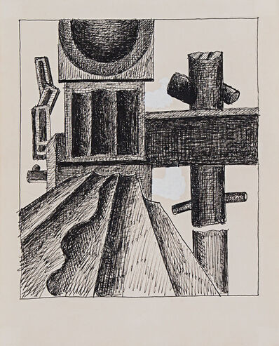 Fernand Léger, 'Composition (with machine parts)', ca. 1930