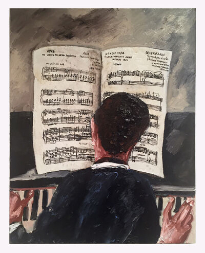 Natalya Nesterova, 'Grieg', 2017