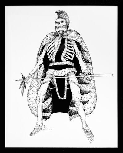 Kate Glasheen, 'Dead King 29 [18th Century Polynesian King]', 2020