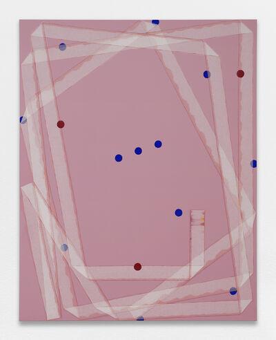 Noel Dolla, 'Plis et replis', 2018