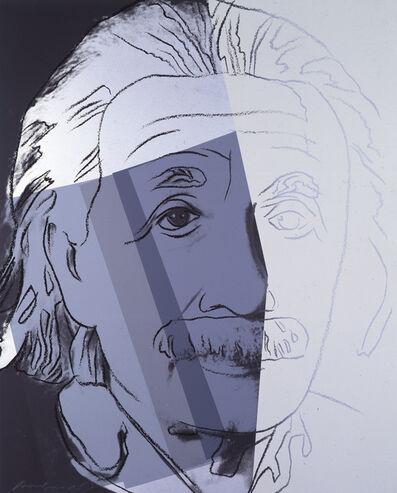 """Andy Warhol, 'Albert Einstein from """"Ten Portraits of Jews of the Twentieth Century"""" portfolio', 1980"""
