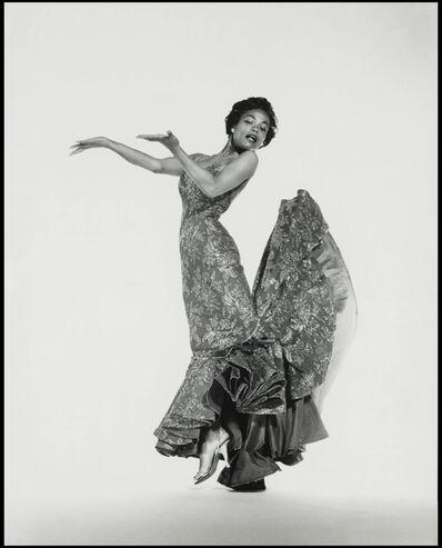 Philippe Halsman, 'Eartha Kitt, jumps', 1954